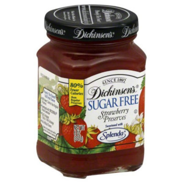 T.N. Dickinson's Sugar Free Strawberry Preserves
