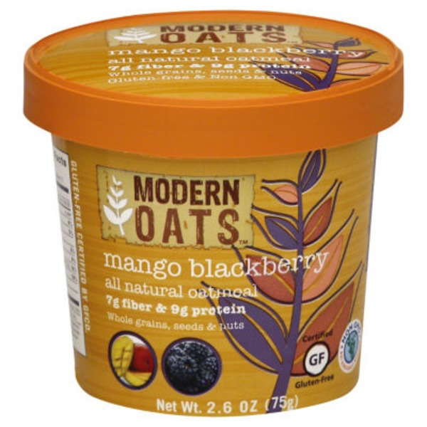 Modern Oats Oatmeal, Mango Blackberry, Cup
