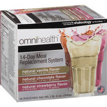 omnihealth 14-Day Meal Replacement System Variety Pack
