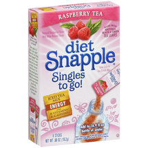 Snapple Diet Raspberry Tea Singles