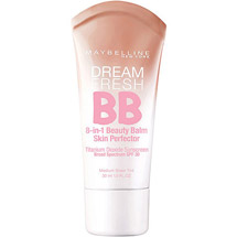 Maybelline Dream Fresh BB Cream Sheer Tint 8-In-1 Skin Perfector Light/Medium Medium