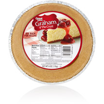 Great Value Graham Cracker Pie Crust