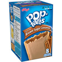 Kellogg's Pop-Tarts Frosted Brown Sugar Cinnamon Toaster Pastries