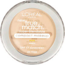 L'Oreal Paris True Match Super-Blendable Compact Makeup  Porcelain