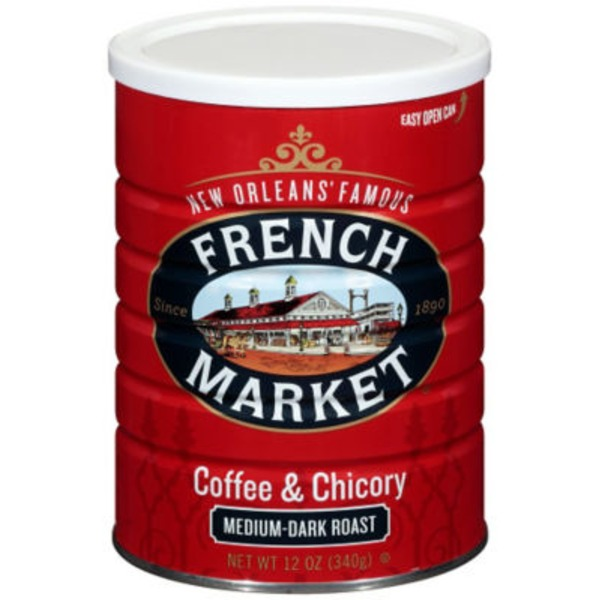 French Market & Chicory Medium-Dark Roast Ground Coffee