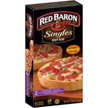 Red Baron Singles Deep Dish Supreme Pizzas