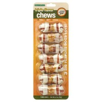 Good 'n' Fun Triple-Flavor Chew Mini-Bones - 7 CT