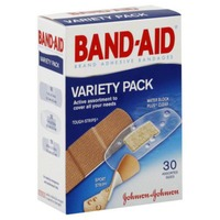 Band Aid® Brand Adhesive Bandages Assorted Variety Pack
