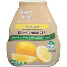Great Value Lemonade Drink Enhancer