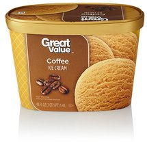 Great Value Coffee Ice Cream