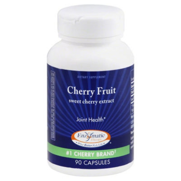 Enzymatic Therapy Cherry Fruit Extract Capsules