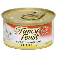 Fancy Feast Classic Savory Salmon Feast