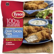 Tyson Fully Cooked Crispy Strips Chicken