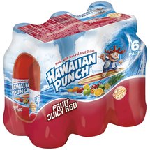 Hawaiian Punch Fruit Juicy Red Flavored Juice Drink
