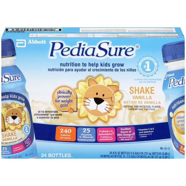 PediaSure Grow & Gain Vanilla Shake Nutritional Drink