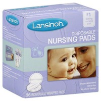 Lansinoh Nursing Pads Disposable - 36 CT