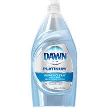 Dawn Platinum Power Clean Refreshing Rain Scent Dishwashing Liquid 30 Fl Oz