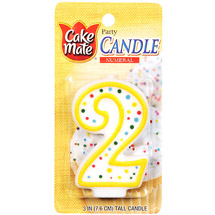 Cake Mate Numeral Candle #2