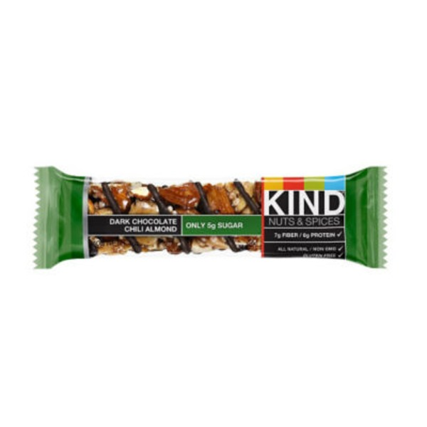 KIND Nuts & Spices Dark Chocolate Chili Almond Bar