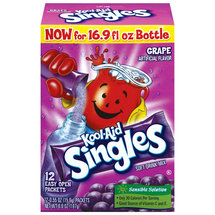 Kool-Aid Singles Unsweetened Grape Flavored Drink Mix