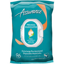 Assurance Premium Disposable Washcloths