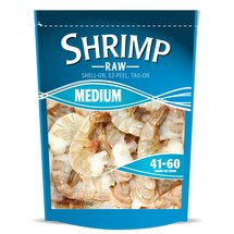 Frozen Medium Raw Shrimp