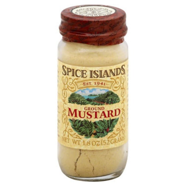 Spice Islands Ground Mustard