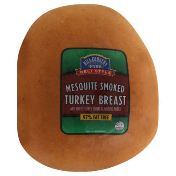 Hill Country Fare Deli Style Mesquite Smoked Turkey Breast