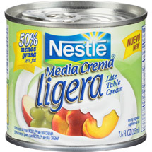 Nestle Media Crema Ligera Lite Table Cream