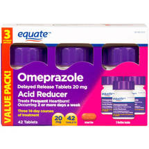 Equate Delayed Release Tables 20Mg Acid Reducer Omeprazole