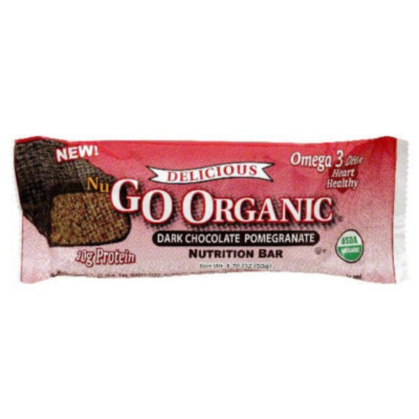 NuGo Nutrition Bar, Dark Chocolate Pomegranate