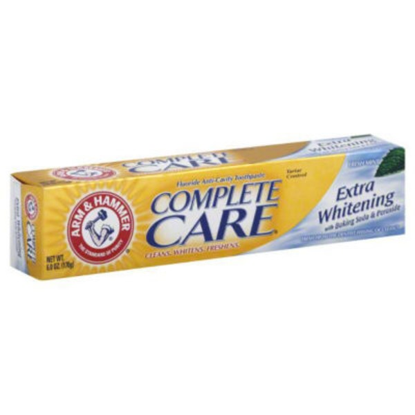 Arm & Hammer Plus Whitening Fresh Mint with Baking Soda & Peroxide Complete Care Toothpaste