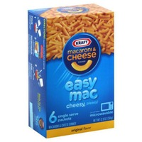Kraft Dinners Easy Mac Original Flavor Macaroni & Cheese Dinner