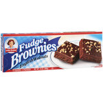 Little Debbie Snacks Fudge Brownies With English Walnuts
