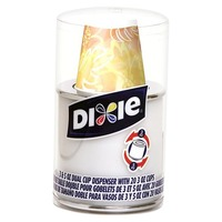Dixie Dual Cup Dispenser - 20 Count (3oz and