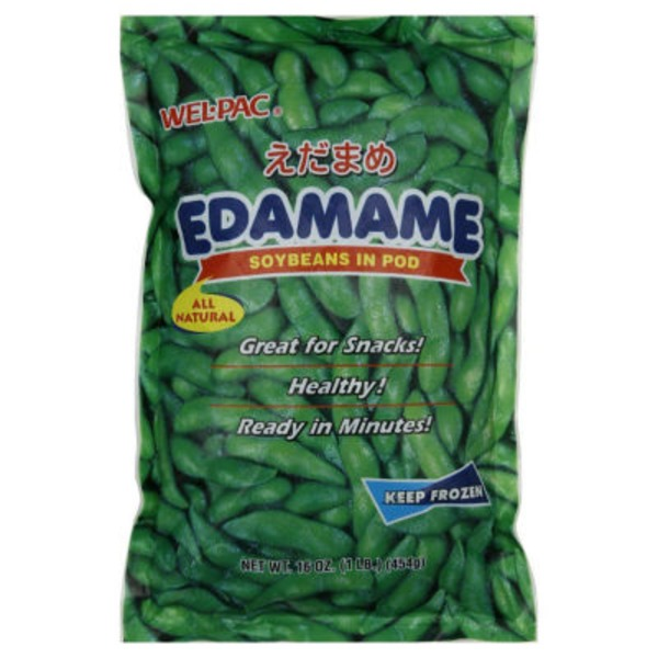 Wel-Pac Edamame, Soybeans In Pod