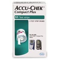 Accu-Check Test Strips, 3 Drums
