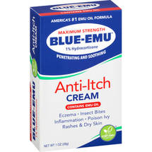 Blue-Emu Maximum Strength 1% Hydrocortisone Anti-Itch Cream