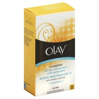 Olay Complete Olay Complete All Day Moisturizer with Broad Spectrum SPF 15 - Sensitive, 4.0 fl oz  Female Skin Care