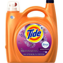 Tide Plus Febreze Freshness Spring ; Renewal High Efficiency Liquid Laundry Detergent