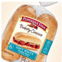 Pepperidge Farm Fresh Bakery Classic Soft with Sesame Seeds Hoagie Rolls