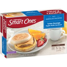 Weight Watchers Smart Ones Turkey Sausage English Muffin Sandwiches