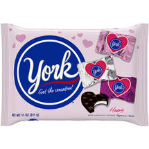 York Valentine's Miniature Hearts 10 oz