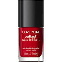 CoverGirl Outlast Stay Brilliant Nail Gloss Red Revenge