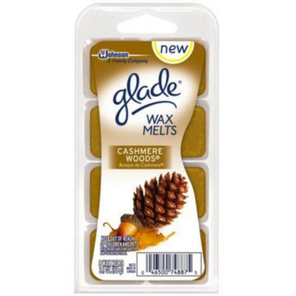 Glade Cashmere Woods Wax Melts Air Freshener