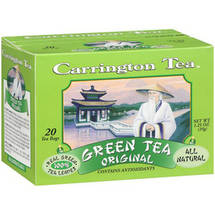 Carrington Tea Original Green Tea Bags