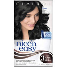 Clairol Nice N Easy 122 Natural Black Hair Color
