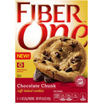 Fiber One Chocolate Chunk Soft Baked Cookies
