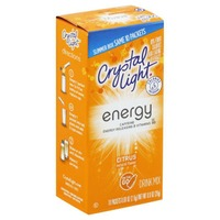 Crystal Light On the Go with Caffeine Citrus Drink Mix