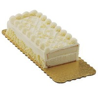 H-E-B Bakery Sensational White With French Butter Cream Cake